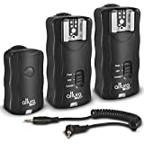 (2 Trigger Pack) Altura Photo Wireless Flash Trigger for CANON w/ Remote Shutter (Canon EOS 80D, 77D, 70D, 60D, Rebel T7i, T6i, T6, T5i, T5, T4i, T3i, T3, SL1, SL2 DSLR Cameras)