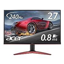 Acer ゲーミングモニター KG271Fbmiipx 27インチ 240hz 0....