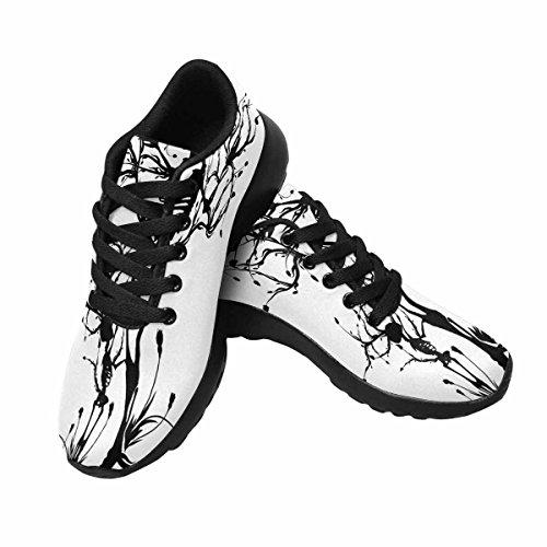 Interestprint Mujeres Jogging Running Sneaker Ligero Go Easy Walking Comfort Deportes Zapatillas Para Correr The Tree Of Life Multi 1
