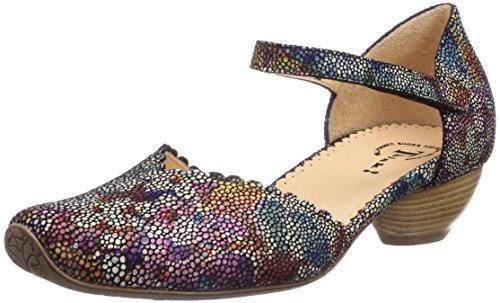 Think AIDA - Zapatos de vestir de cuero para mujer multicolor - Mehrfarbig (SZ/MULTI 03)