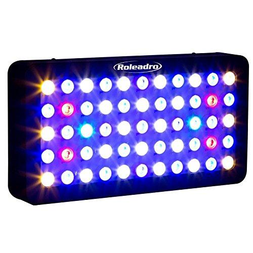 Full Spectrum165w Dimmable LED Aquarium Grow Light Fish Tank Reef Coral Lighting