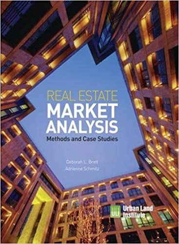 Real Estate Market Analysis: Methods And Case Studies, Second Edition 2nd  Edition