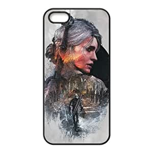 iPhone 5 5s Cell Phone Case Black The Witcher3 Wild Hunt BNY_6782770