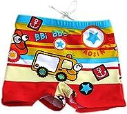 Cartoon Car Children's Swimming Trunks Boy Swimwea