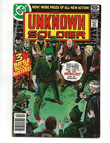 Unknown Soldier #220 1978 3 Battle Block-Busters ()