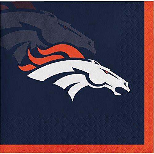 Denver Broncos Beverage Napkins, 48 ct for $<!--$10.95-->