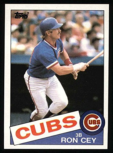 1985 Topps # 768 Ron Cey Chicago Cubs (Baseball Card) Dean's Cards 8 - NM/MT Cubs Ron Cey Baseball