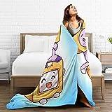 Yemaijai Foxy Boxy Blanket Warm Plush Cozy Soft