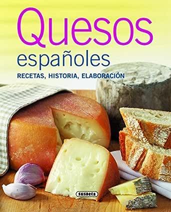 Quesos españoles (El Rincón Del Paladar) eBook: Susaeta, Equipo ...