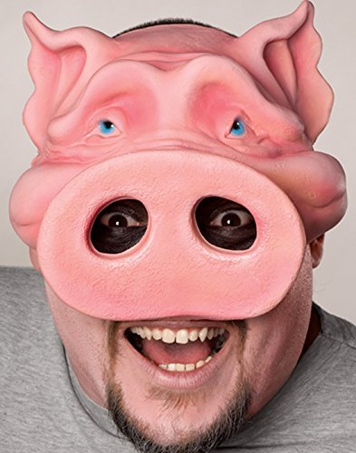 Shrek Costumes Kids Mask (Rubie's Costume Co Pig Boy Chinless Mask Costume)