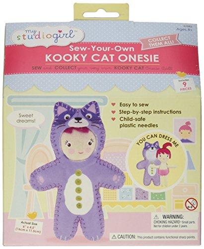 - My Studio Girl Onesies - Kooky Cat