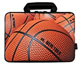 iColor 12' Laptop Handle Bag 11.6' 12.2 inch Neoprene Notebook Tablet Sleeve Computer PC Carrier Protection Cover Case Pouch (Basketball)