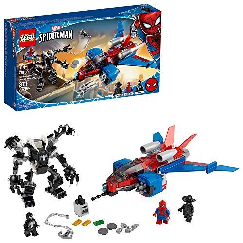 LEGO Marvel Homem-Aranha: Aranha-Jato vs. Robô do Venom 76150 Kit de Construção (371 peças)
