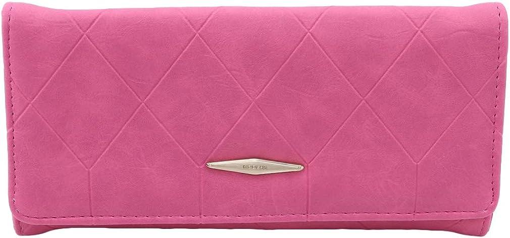 Firecolor Women Wallets Credit Card Holder Clutch Zipper Long Wallet Coin Cellphone Pocket Slim