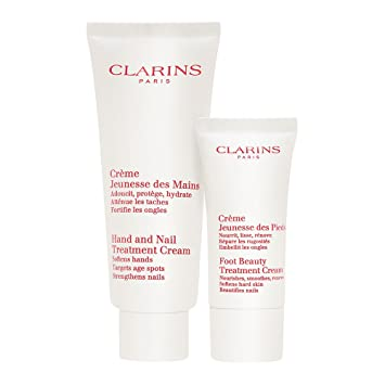 clarins hand and foot cream gift set