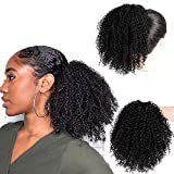 Best Hair Extension Ponytail Real Hairs - Aisibeauty Afro Kinky Curly Ponytails Clip In Hair Review
