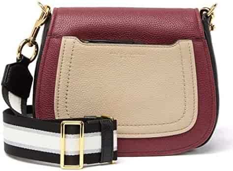 Marc Jacobs Empire City Mini Messenger Leather Crossbody Bag