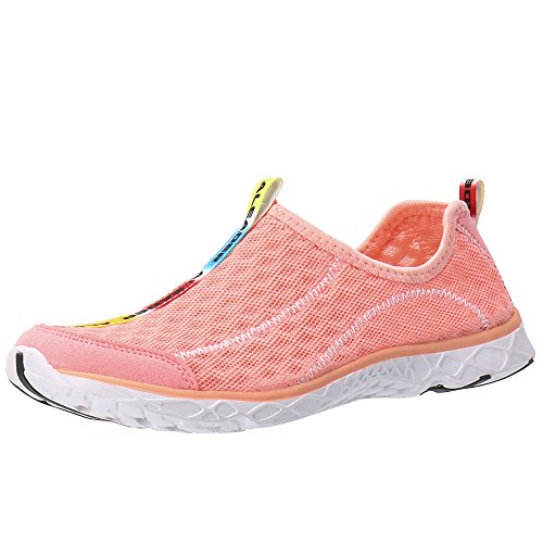 ALEADER Womens Mesh Slip On Water Shoes Sandy Rose 5.5 D(M) US