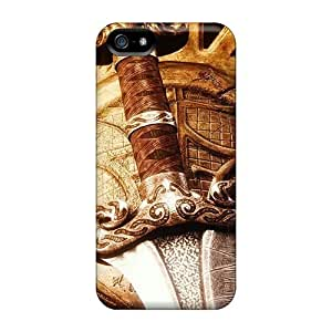 AnnetteL Scratch-free Phone Case For Iphone 5/5s- Retail Packaging - Tools Of A Warrior