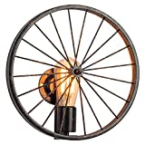 Vintage Wheel Wall Light Creative Iron Industry Wind Wall Lamp Bedroom Bedside Restaurant Bar Corridor Decorative Lights