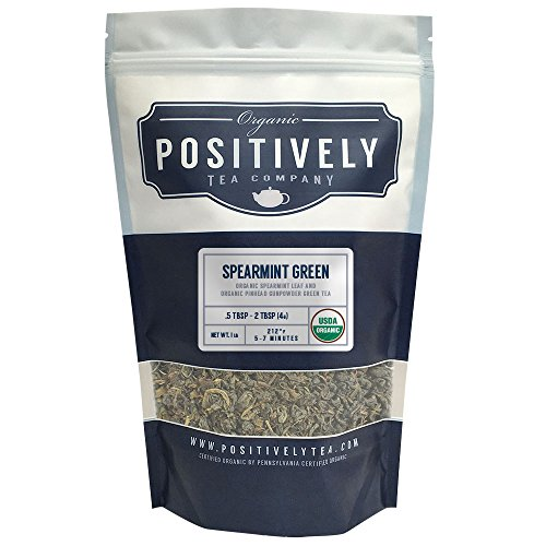 Organic Spearmint Green Tea Positively product image