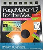 PageMaker 4.2 for the Macintosh, William B. Sanders, 1559582391