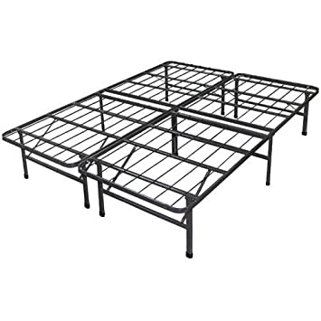 best price mattress new innovated box spring metal bed frame queen - Steel Bed Frames