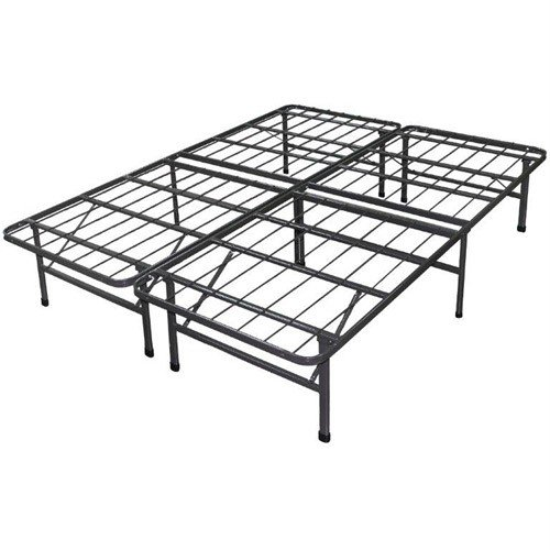 Best Price Mattress New Innovated Box Spring Platform Metal Bed Frame / Foundation, King by Best Price Mattress