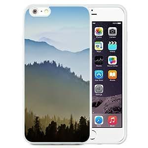 Beautiful Unique Designed iPhone 6 Plus 5.5 Inch Phone Case With Sunrise Over Hills_White Phone Case