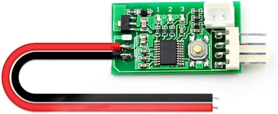 Yoneix DC 12V PWM Temperature Controller Fan Controller 4-Wire ...