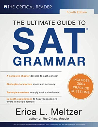 4th Edition, The Ultimate Guide to SAT Grammar by Critical Reader, The