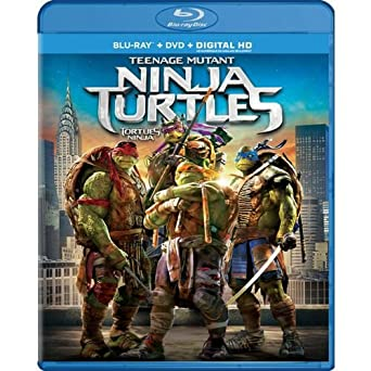 Amazon.com: Teenage Mutant Ninja Turtles (Blu-ray / DVD ...