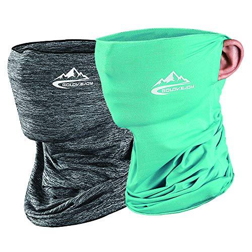 Yakuin Scarf Bandanas Neck Gaiter Multi-Purpose Balaclava Headwear for Outdoor Sports Face Cover