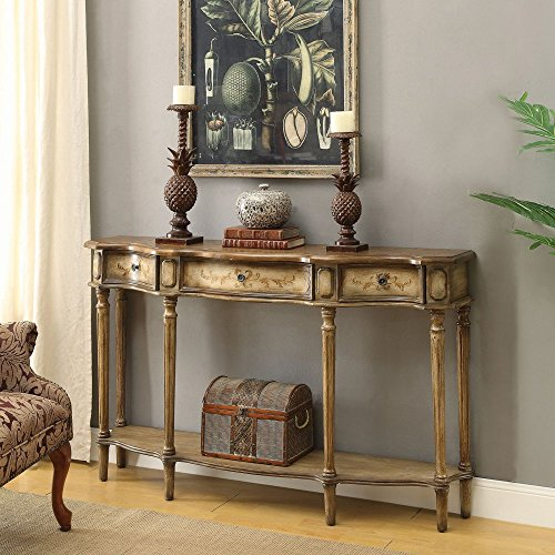 Coaster Console Table in Brown Review