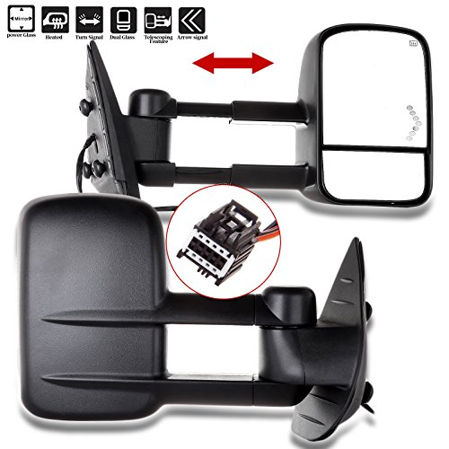 08 chevy 2500 tow mirrors - 1
