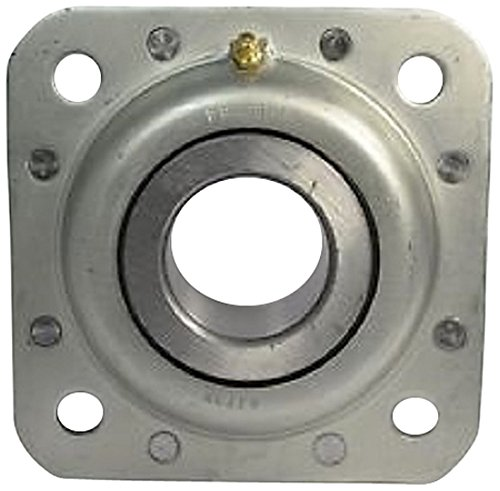 Peer Bearing ST491B Agriculture Bearing, Flanged Disc, Relubricable, Four Bolts, Two Triple Lip Seals, 1-1/2