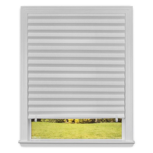 36 inch x 72 inch light filtering cordless paper window for Smart window shades