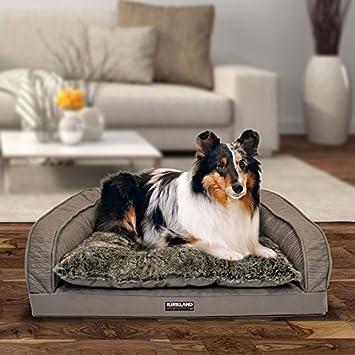 Kirkland Signature 64 x 89 cm Reforzado mascotas sofá cama en color marrón: Amazon.es: Productos para mascotas