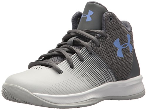 Under Armour Girls' Pre School Surge Basketball Shoe, Graphite (100)/Elemental, 1.5 (Basketball Shoes One)