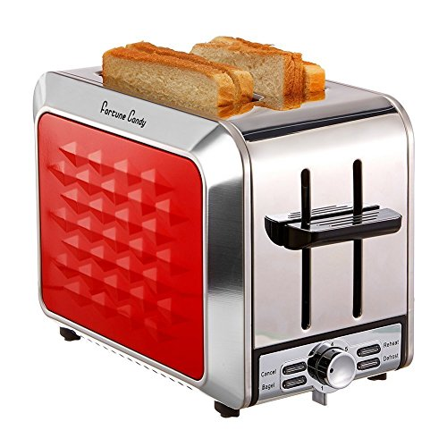 Toaster with a pop of color.