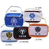 Kuroko's Basketball enamel bag-like pouch jump anime goods mail order / [Kirisumeragi school]