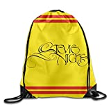 NaDeShop Stevie Nicks Logo Drawstring Backpack Travel Sports Bag