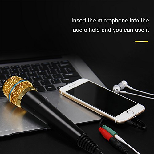 Professional Condenser Microphone Recording with Stand for PC Computer iphone Phone Android Ipad Podcasting, Online Chatting Mini Microphones by XIAOKOA by XIAOKOA (Image #6)