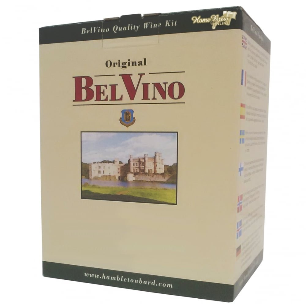 BelVino 7 Day Wine Making Kit Sherry Style White Wine 23L Fruit Included Hambleton Bard
