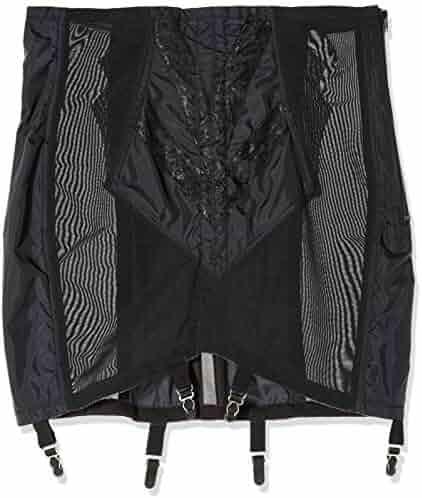 f37deca62b737 Rago Women s Plus-Size High Waist Open Bottom Girdle with Zipper