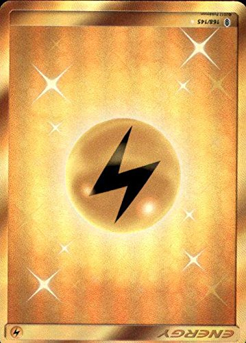 Pokemon   Sun & Moon Guardians Rising Secret Rare Lightning energy 168 145
