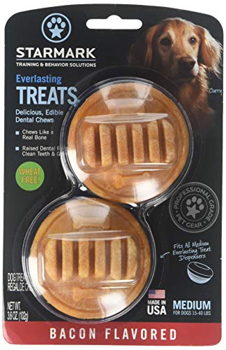 Starmark Everlasting Dental Chew, Bacon Flavored, Medium, 8 Count ()