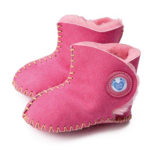 Inch Blue, Mädchen Babyschuhe - Krabbelschuhe & Puschen  rosa 6-12Mois