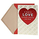 Hallmark Valentine's Day Greeting Card for Father (Circles and Diamonds)