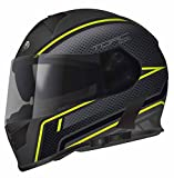 Torc T14B Blinc Loaded Scramble Full Face Helmet (Hi Viz ...